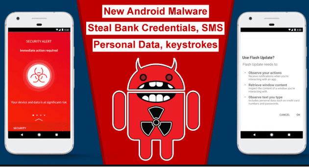 New Android Malware Now Steals Passwords For Non-Banking Apps Too