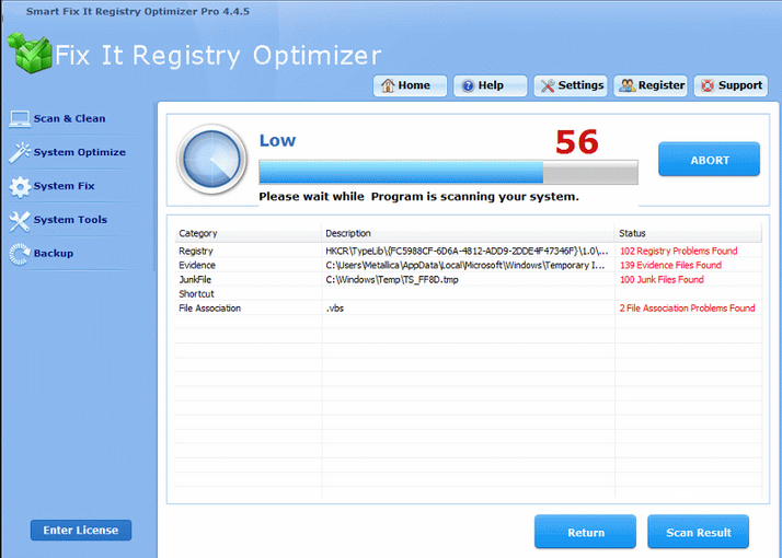 Smart Fix It Registry Optimizer Pro
