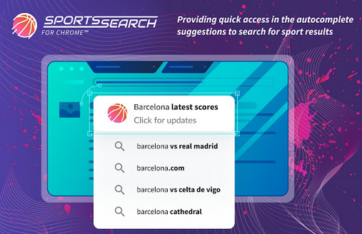 Sports Search for Chrome