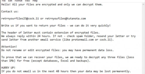 Hhmgzyl ransomware Removal