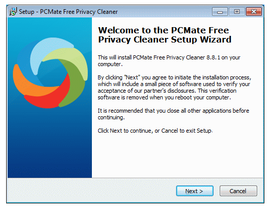 PCMate Free Registry Cleaner 1