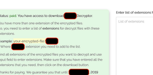 Remover .Konx extension ransomware