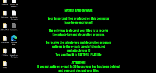 Eliminar CNH ransomware