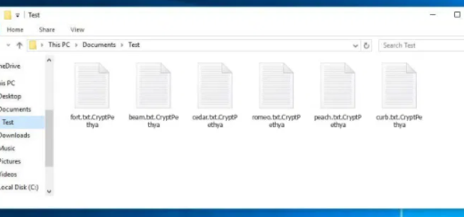 Remove CryptPethya ransomware